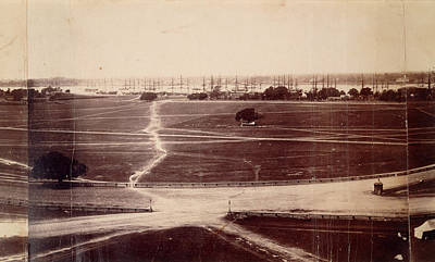 Colonial Architecture Photograph - Strand And Eden Gardens by British Library