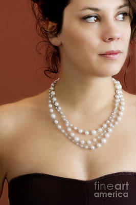 Strand Of Pearls Print by Margie Hurwich