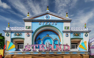 Photograph - Strand Theater - Key West by Frank J Benz