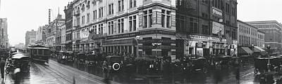 Washington Dc Street Scene Photograph - Strand Theater Washington Dc by Fred Schutz Collection