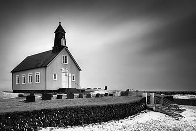 Lutheran Photograph - Strandarkirkja by Dave Bowman