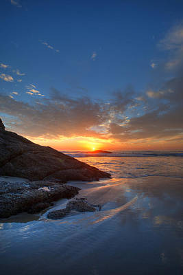 Photograph - Strands Beach Winter Skies by Cliff Wassmann