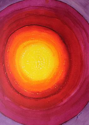 Outerspace Patenets Royalty Free Images - Strange Attractor original painting SOLD Royalty-Free Image by Sol Luckman