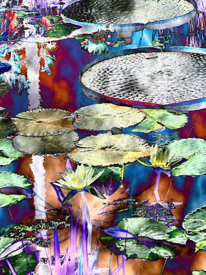 Strange Daze Art Print by Bobbie Barth