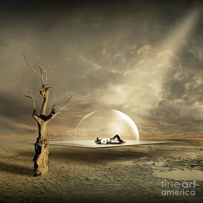 Fantasy Tree Digital Art - strange Dreams by Franziskus Pfleghart