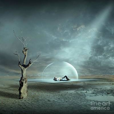 Daydream Digital Art - Strange Dreams II by Franziskus Pfleghart