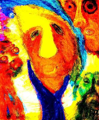 Mental Painting - Coming From Such A Strange Family  by Hilde Widerberg