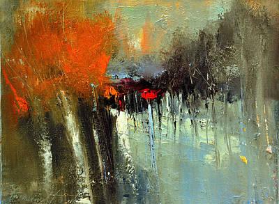 Painting - Strange Forest by David Figielek