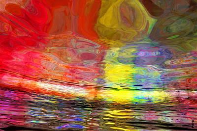 Digital Art - Strange Horizons by Matt Lindley