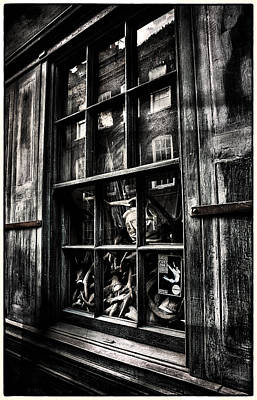 Photograph - Strange Windows In London Town by Lenny Carter