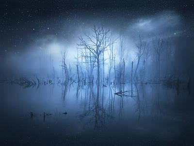 Water Reflections Photograph - Stranger Things by Christian Lindsten