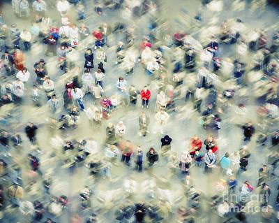 Photograph - Strangers by Edmund Nagele