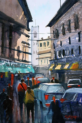 Painting - Strangers In Rome by Ryan Radke