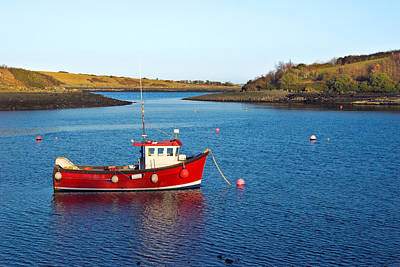 Photograph - Strangford Lough Boat by Jane McIlroy