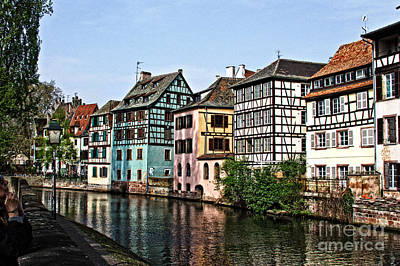Photograph - Strasbourg France by Jill Smith