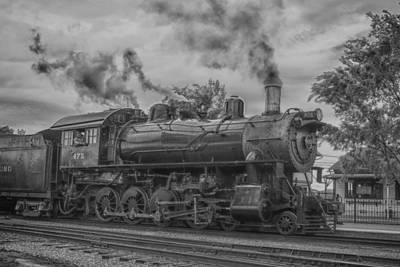 Photograph - Strasburg Rail 475 In Hdr by Guy Whiteley