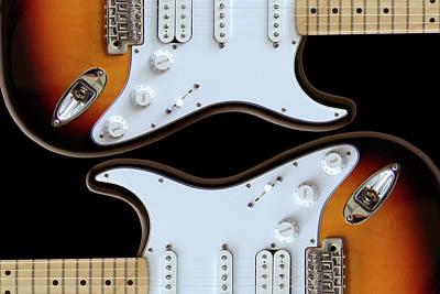 Imaginative Art Digital Art - Electric Guitar 5 by Mike McGlothlen