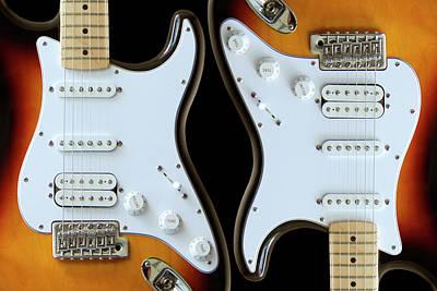 Electric Guitar 6 Art Print by Mike McGlothlen