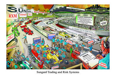 Digital Art - Strategic Direction Learningvisual by Richard Erickson