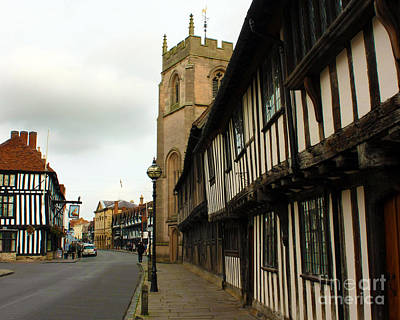 Photograph - Stratford Almshouses And Guild Chapel by Terri Waters
