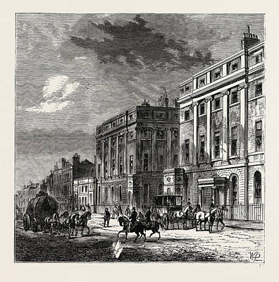 Stratford Drawing - Stratford Place. London, Uk by Litz Collection