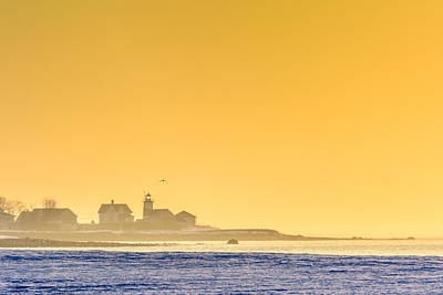 Photograph - Stratford Point Light by Randy Scherkenbach
