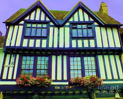 Photograph - Stratford Silouettes by Vicky Tarcau