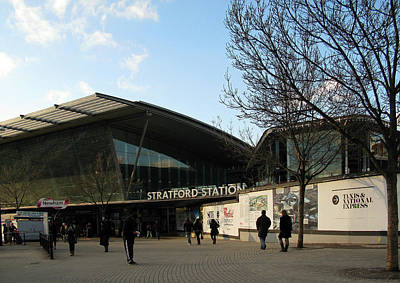 Photograph - Stratford Station by Helene U Taylor