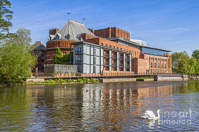 Stratford Photograph - Stratford Upon Avon Royal Shakespeare Theatre by Colin and Linda McKie