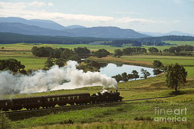 Photograph - The Strathspey Railway by Phil Banks