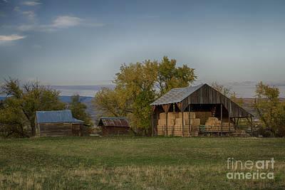Photograph - Straw Barn by Idaho Scenic Images Linda Lantzy