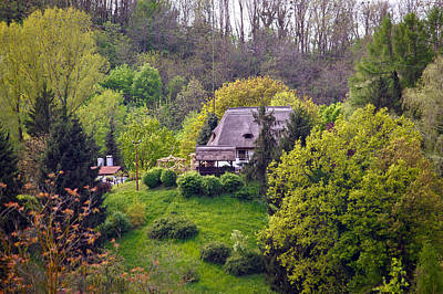Photograph - Straw Roof Cottage In The Nature by Brch Photography
