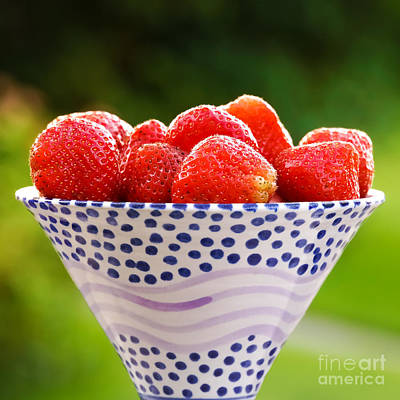 Photograph - Strawberries Forever by Lutz Baar