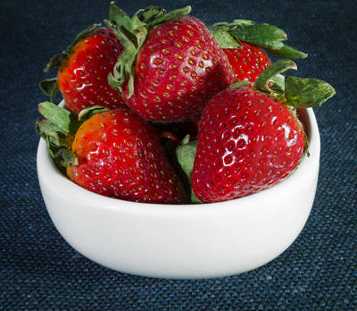 Photograph - Fresh Strawberries by Jack R Perry