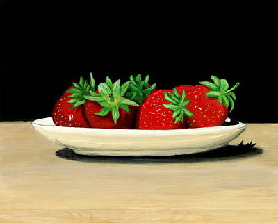 Painting - Strawberries by Karyn Robinson
