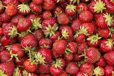 Beaches And Waves Rights Managed Images - Strawberries Mass 2 Royalty-Free Image by John Brueske
