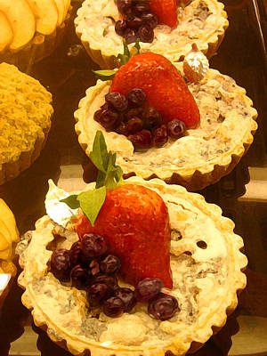 Strawberry Blueberry Tarts Original