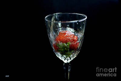 Photograph - Strawberry Champagne Anyone by Crystal Harman