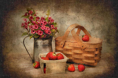 Photograph - Strawberry Days by Robin-Lee Vieira