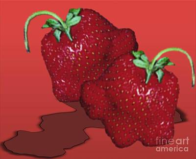 Painting - Strawberry Delight by Belinda Threeths