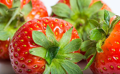 Photograph - Strawberry by Gary Gillette