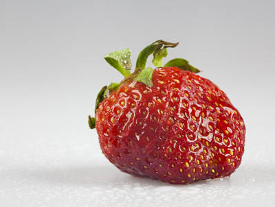 Photograph - Strawberry by John Crothers