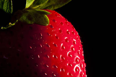 Photograph - Strawberry by Michael Dorn
