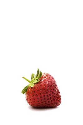 Strawberry Art Print by Natalie Kinnear