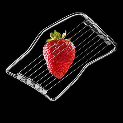 Strawberry On Egg Cutter Original