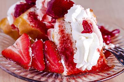 Strawberry Shortcake Art Print by Teri Virbickis