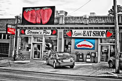 Fried Chicken Photograph - Strawn's Eat Shop by Scott Pellegrin