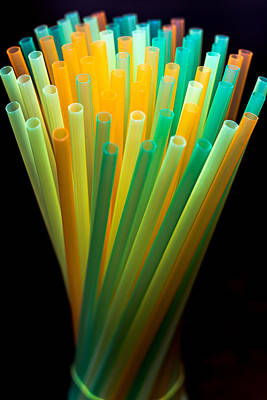 Photograph - Straws by Javier Luces