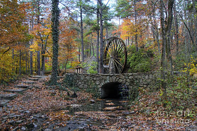 Photograph - Stream From The Old Grist Mill by Barbara Bowen