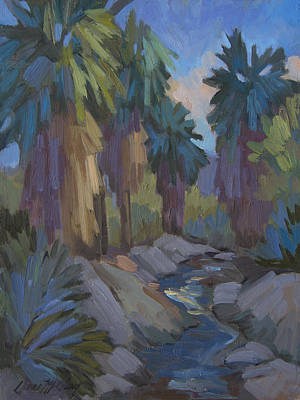 Painting - Stream In The Indian Canyons by Diane McClary